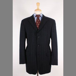 Burberry 42L Gray Sport Coat B748